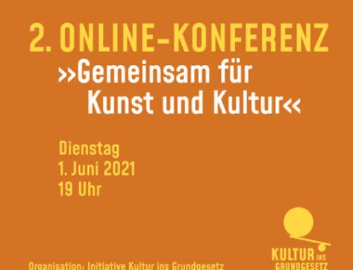 """Neues von der Initiative """"Kultur ins Grundgesetz"""""""