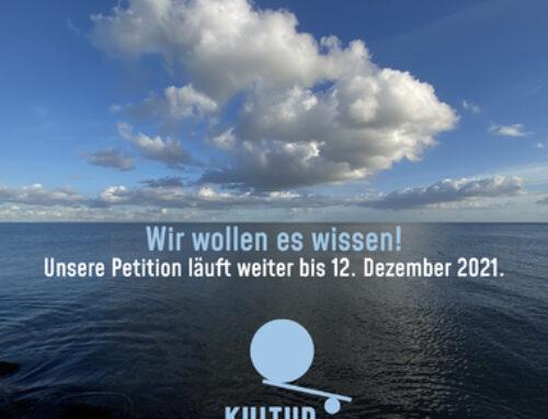 """Neuigkeiten zur Petition """"Kultur ins Grundgesetz"""""""